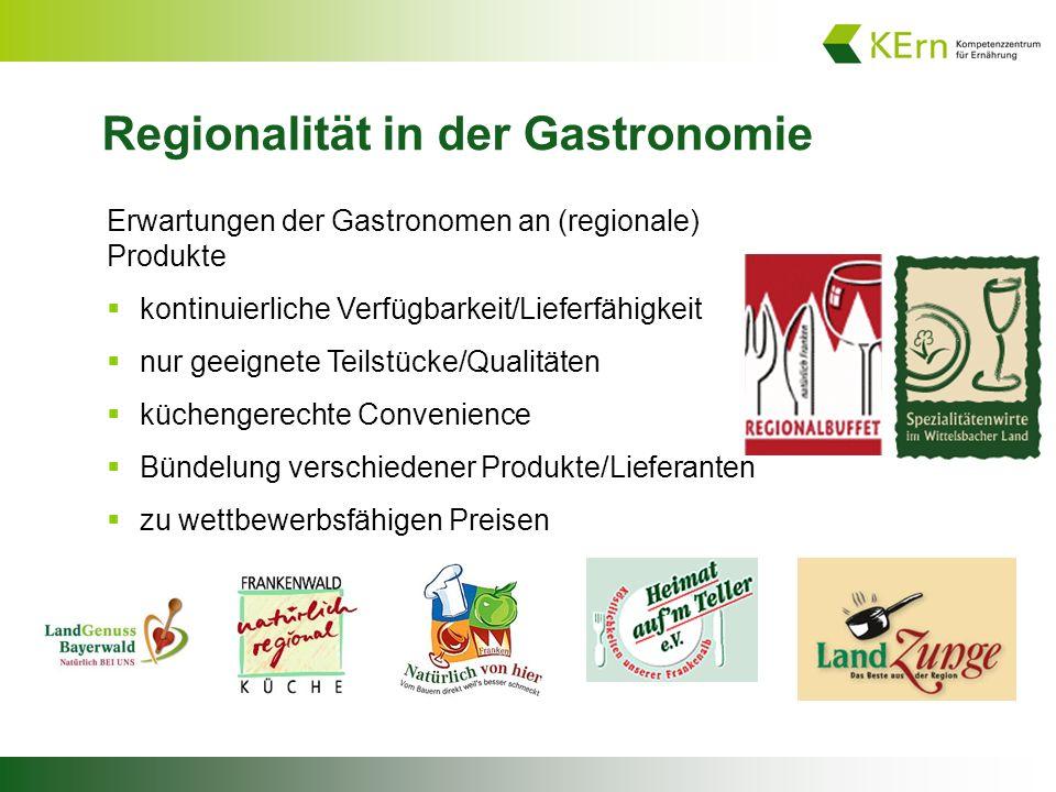 Regionalität in der Gastronomie