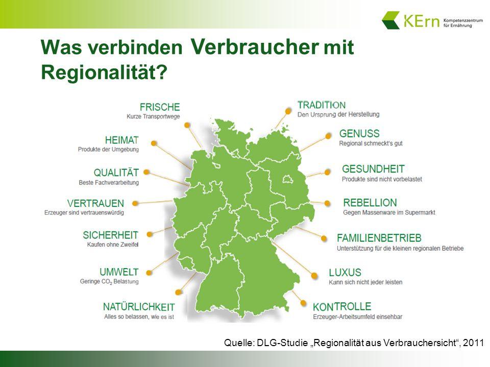 Was verbinden Verbraucher mit Regionalität