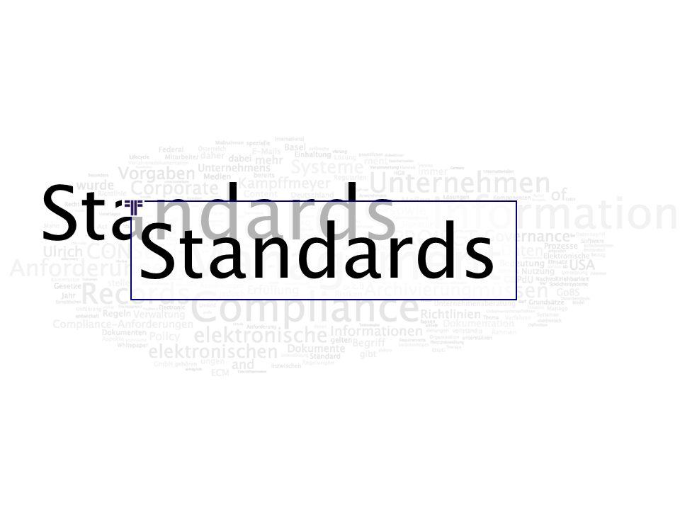 Standards Standards