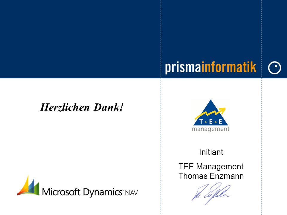 TEE Management Thomas Enzmann