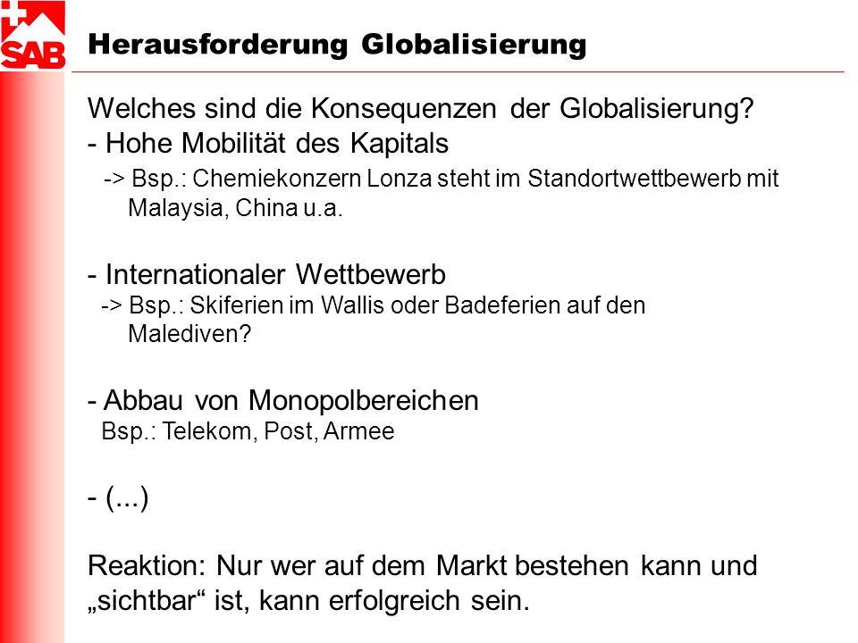 Herausforderung Globalisierung