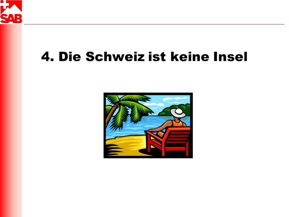 4. Die Schweiz ist keine Insel