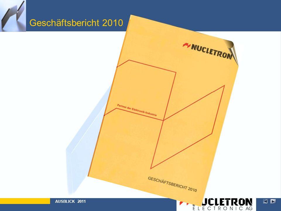 Geschäftsbericht 2010 Abbildung