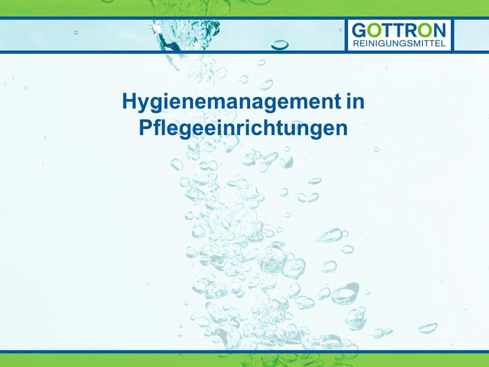 Hygienemanagement in Pflegeeinrichtungen