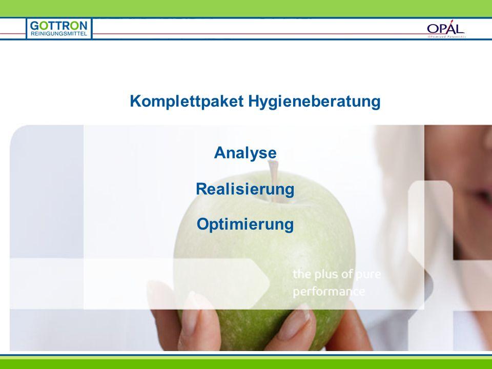 Komplettpaket Hygieneberatung