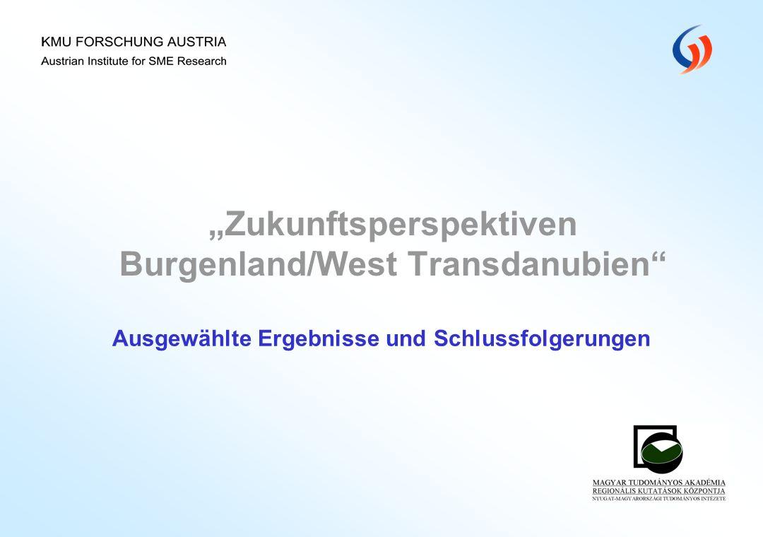 """""""Zukunftsperspektiven Burgenland/West Transdanubien"""