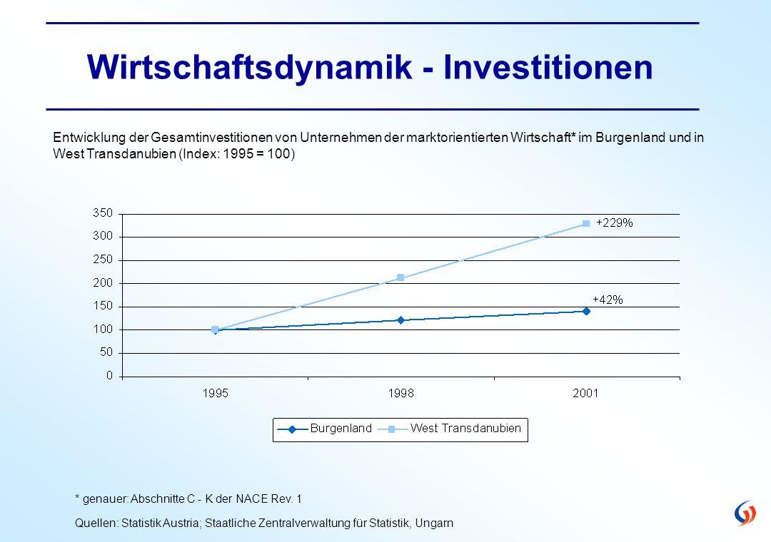 Wirtschaftsdynamik - Investitionen