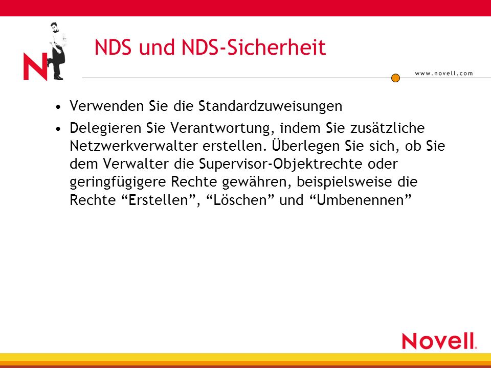NDS und NDS-Sicherheit