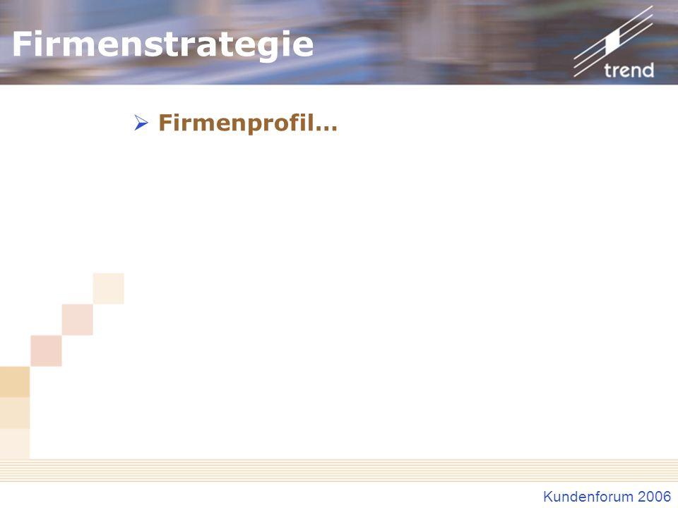 Firmenstrategie Firmenprofil…