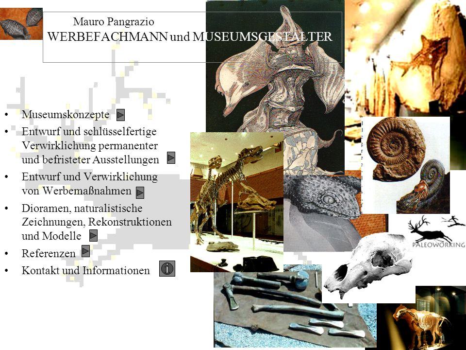 Mauro Pangrazio WERBEFACHMANN und MUSEUMSGESTALTER -
