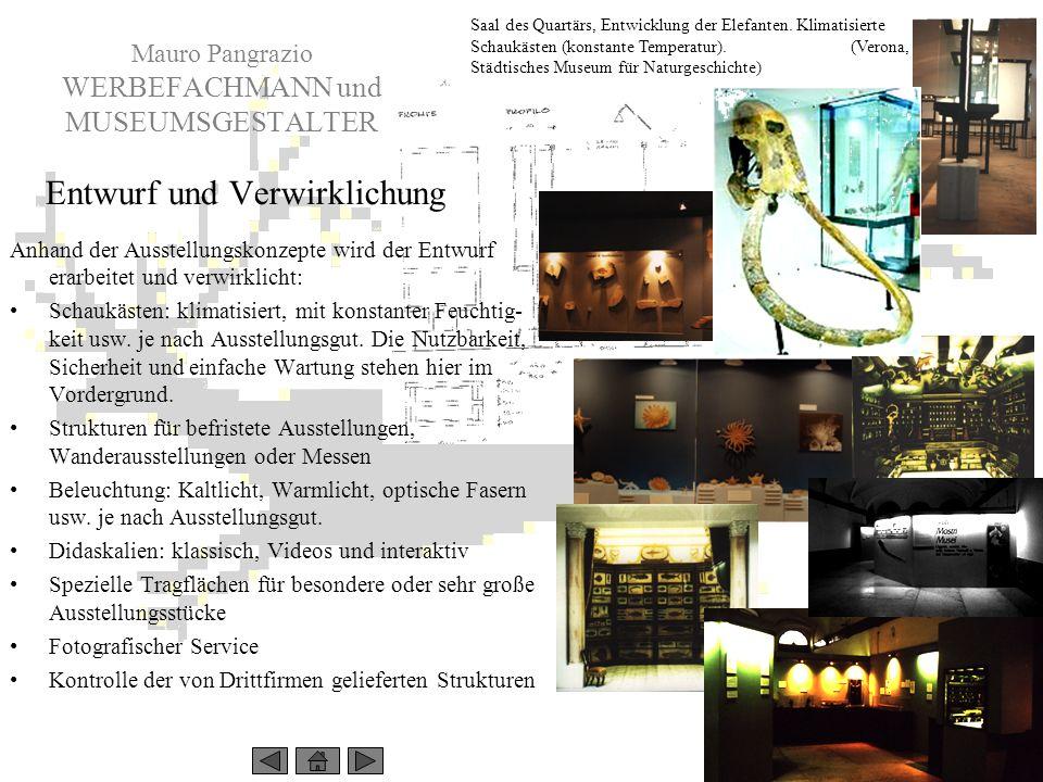 Mauro Pangrazio WERBEFACHMANN und MUSEUMSGESTALTER