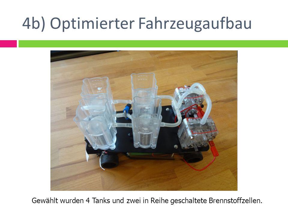 4b) Optimierter Fahrzeugaufbau