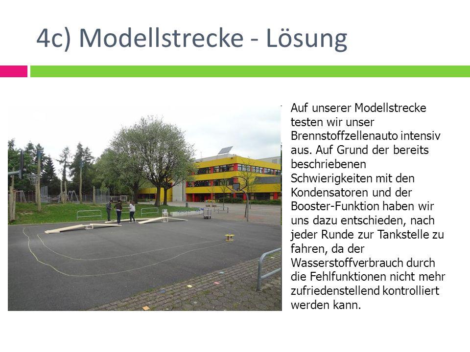 4c) Modellstrecke - Lösung
