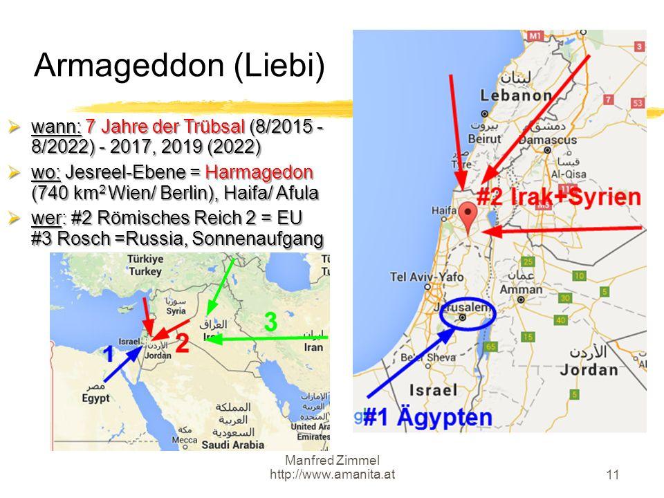 Armageddon (Liebi) wann: 7 Jahre der Trübsal (8/2015 - 8/2022) - 2017, 2019 (2022)