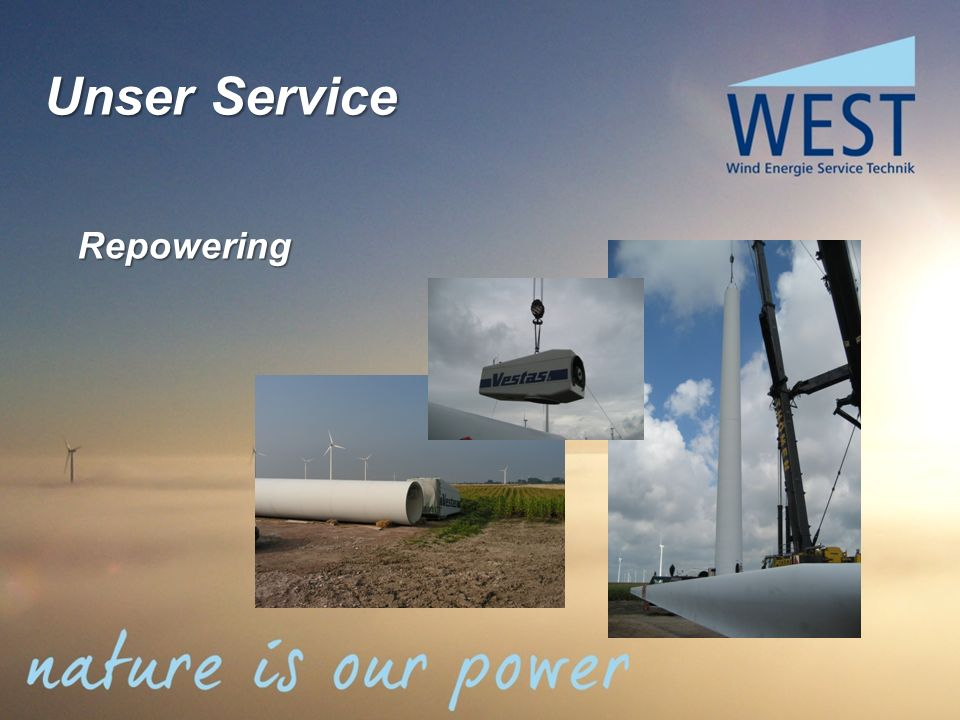 Unser Service Repowering