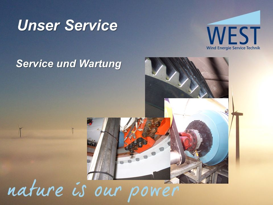 Unser Service Service und Wartung