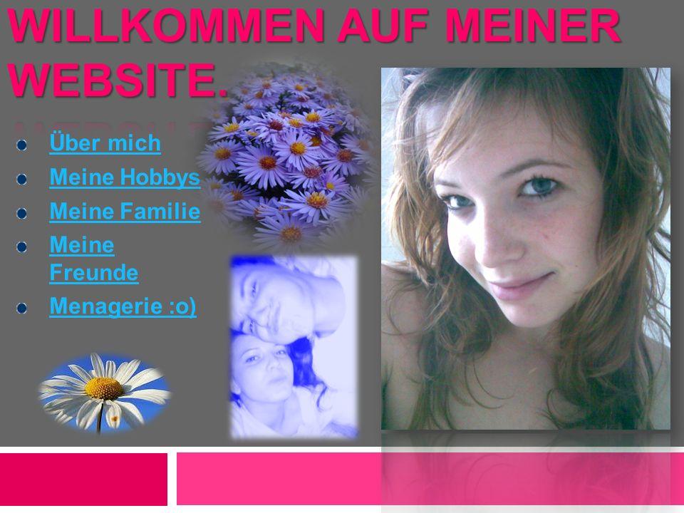 Willkommen auf meiner Website.