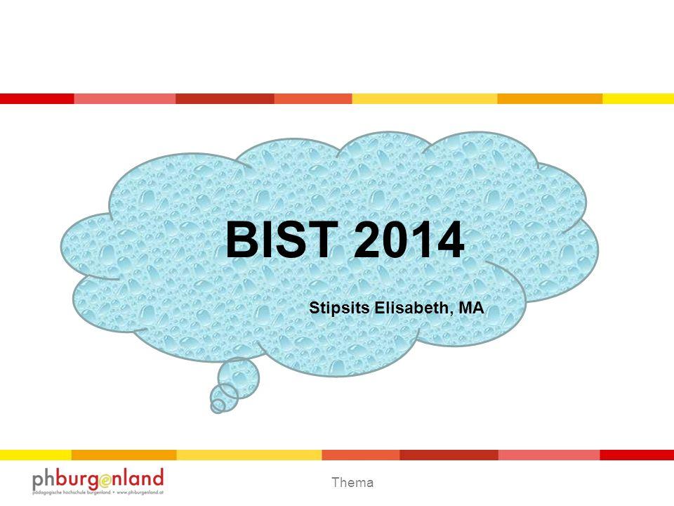 BIST 2014 Stipsits Elisabeth, MA