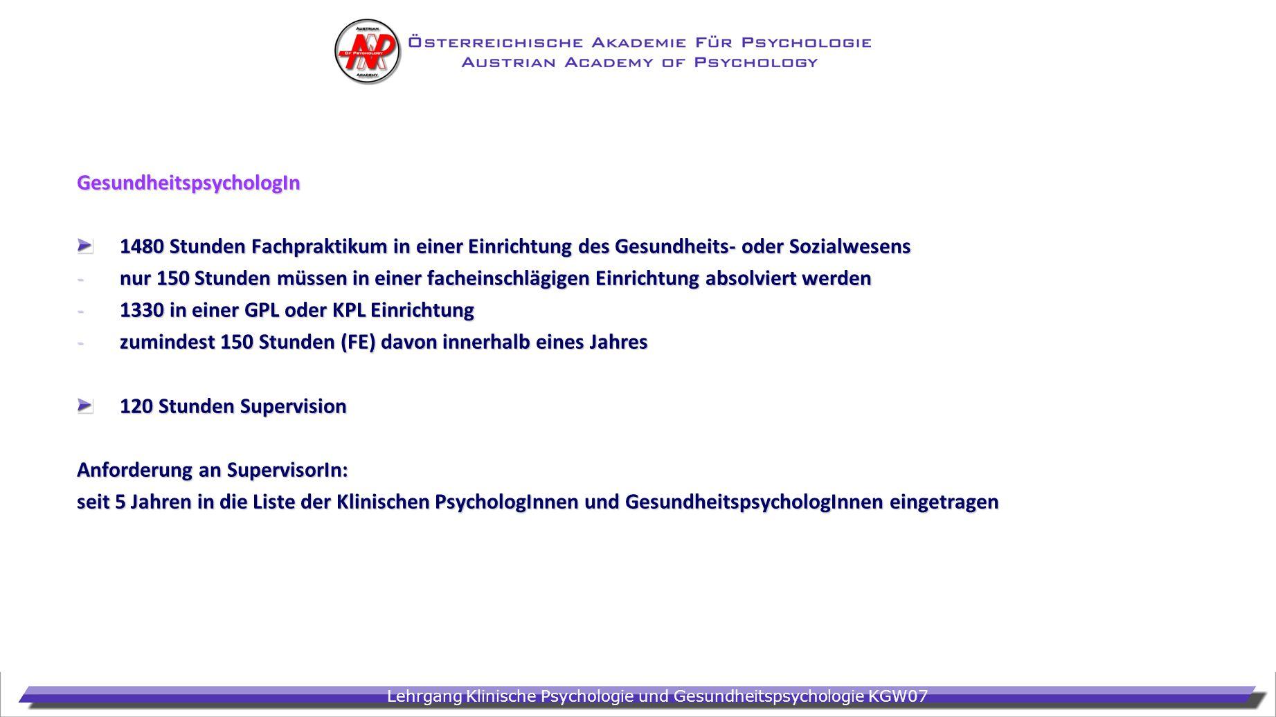 GesundheitspsychologIn
