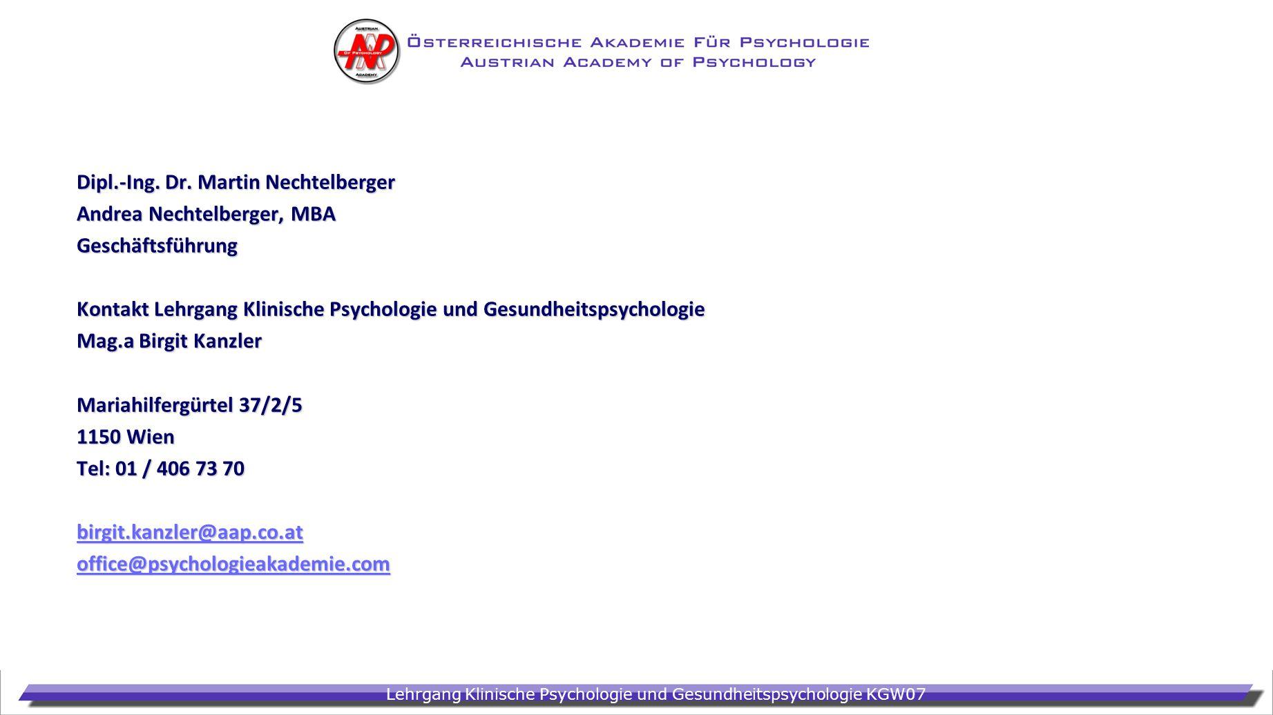 Dipl.-Ing. Dr. Martin Nechtelberger
