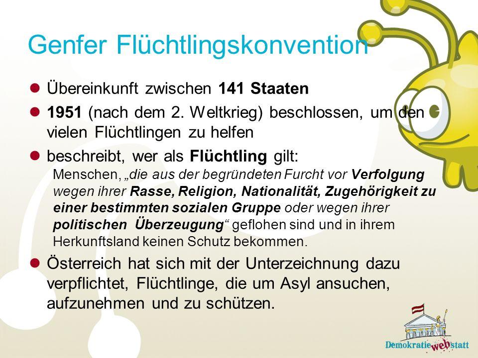 Genfer Flüchtlingskonvention