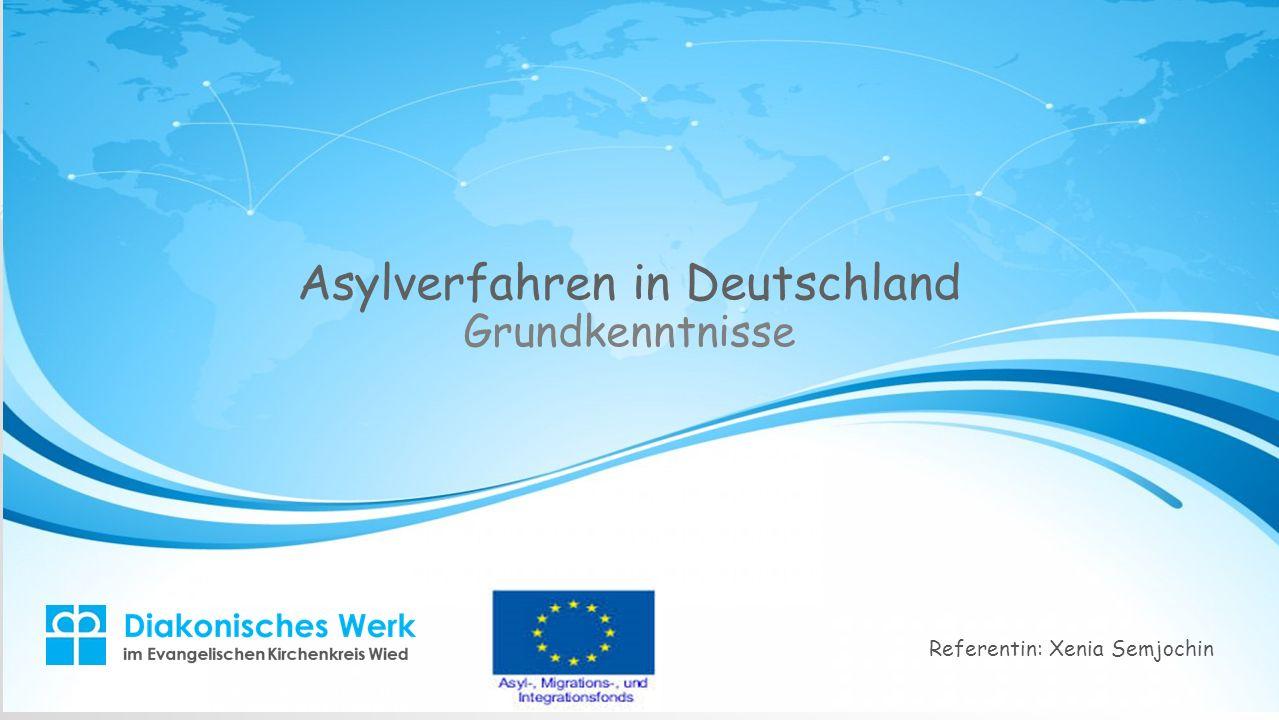 Asylverfahren in Deutschland