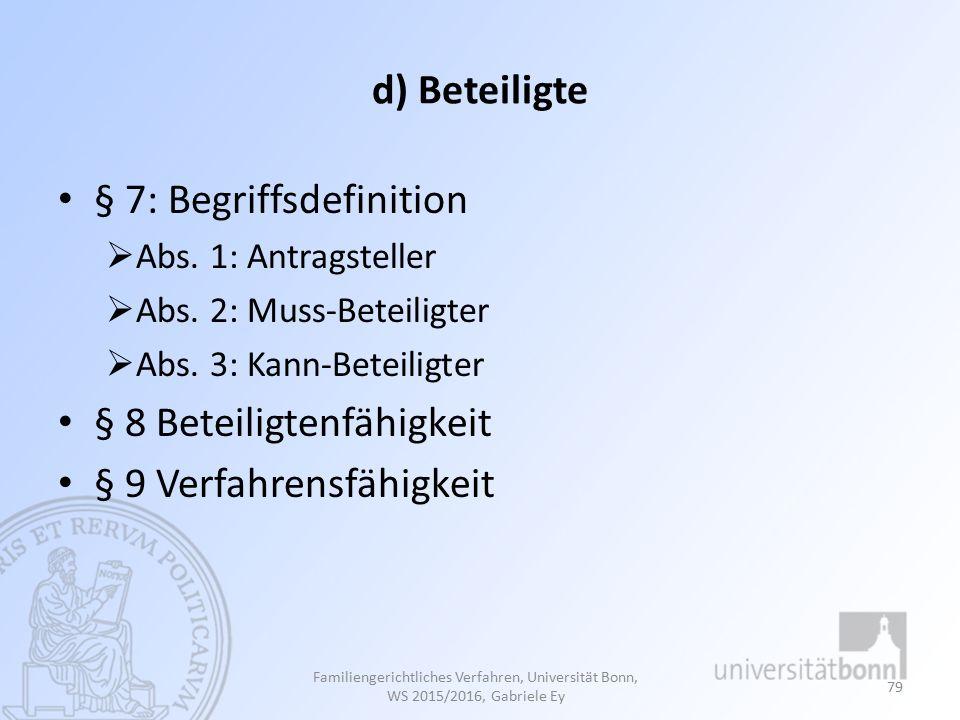 § 7: Begriffsdefinition