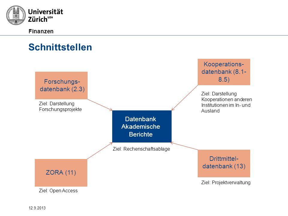 Schnittstellen Kooperations-datenbank (8.1-8.5)