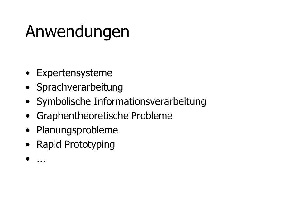 Anwendungen Expertensysteme Sprachverarbeitung