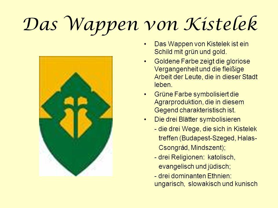 Das Wappen von Kistelek