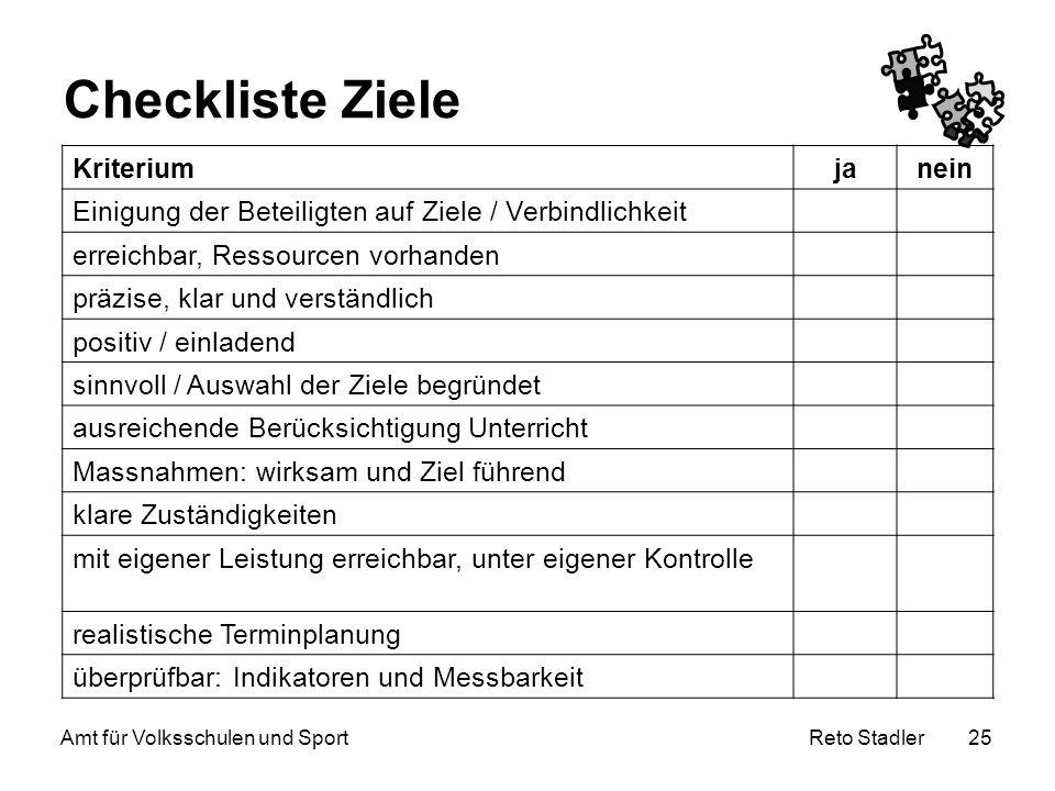 Amt für Volksschulen und Sport