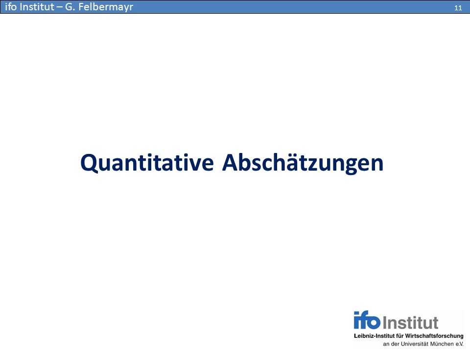 Quantitative Abschätzungen