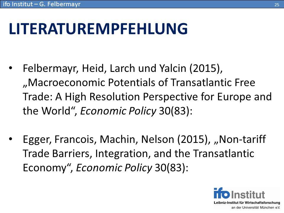 ifo Institut – G. Felbermayr