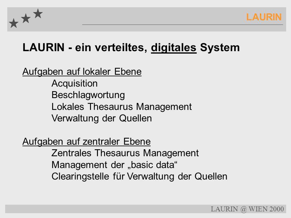 LAURIN - ein verteiltes, digitales System