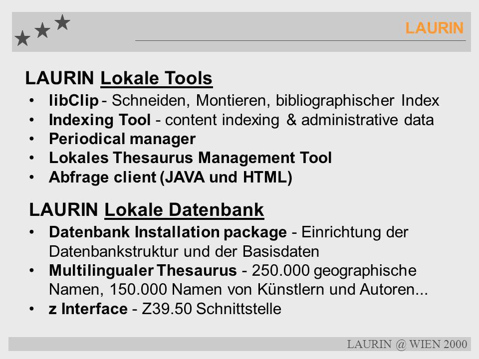 LAURIN Lokale Datenbank