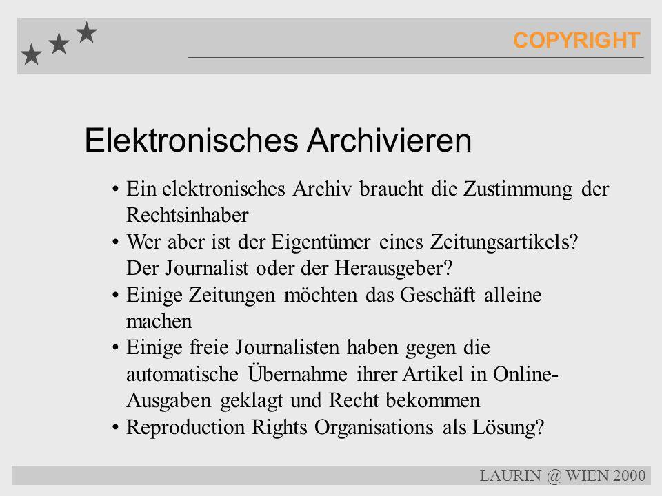 Elektronisches Archivieren