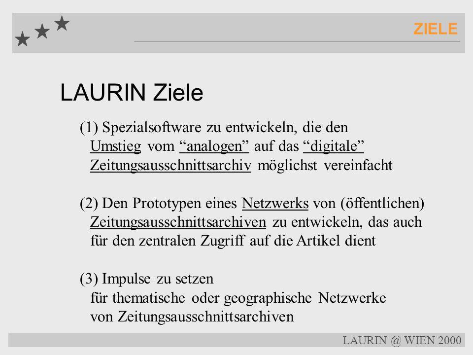 ZIELE LAURIN Ziele.