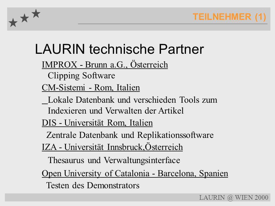 LAURIN technische Partner