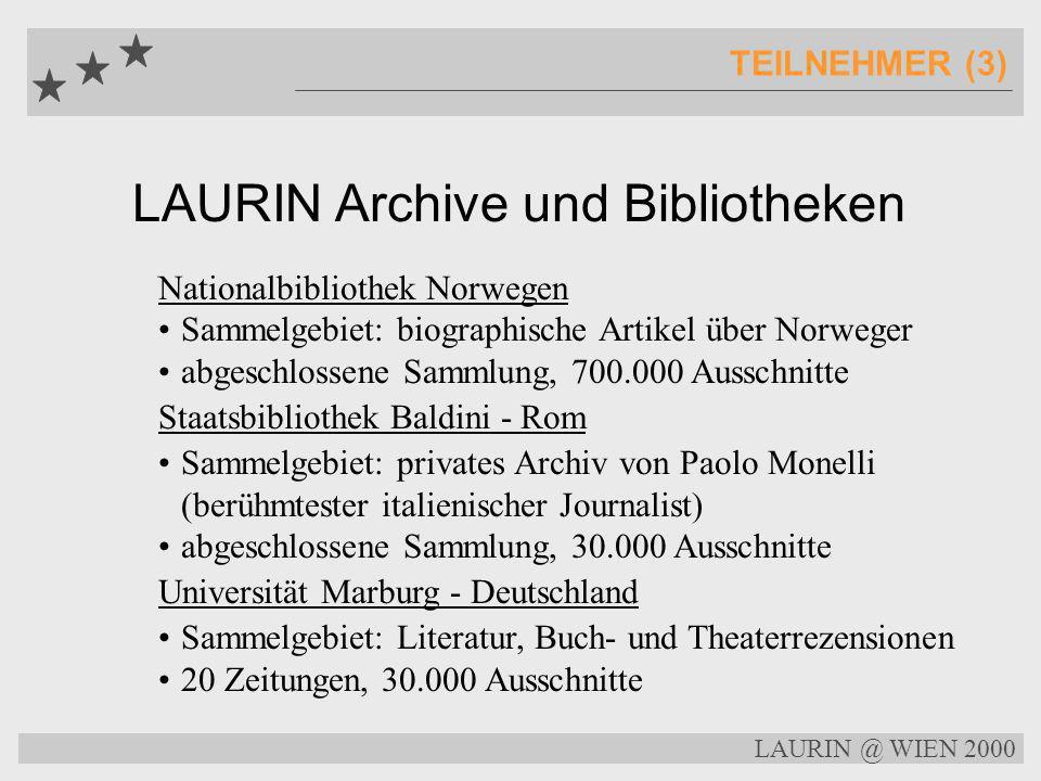 LAURIN Archive und Bibliotheken