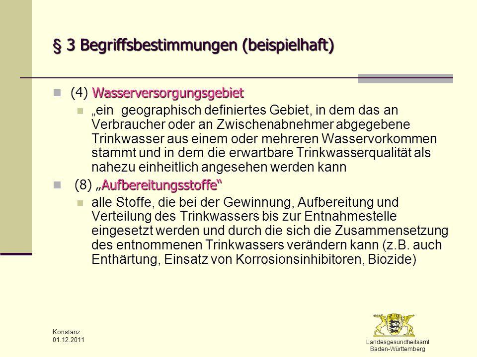 § 3 Begriffsbestimmungen (beispielhaft)