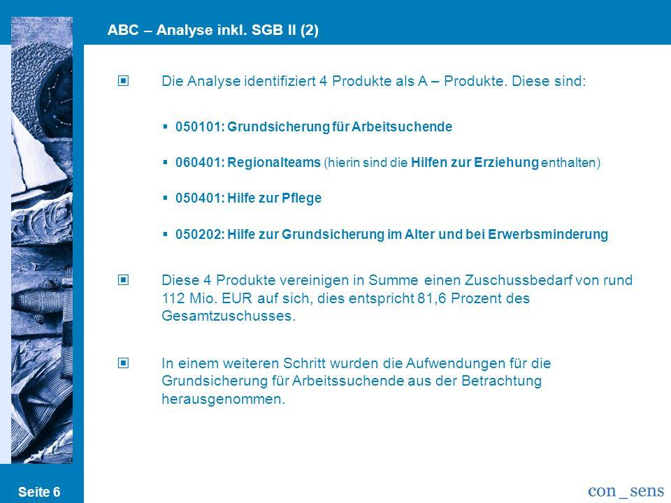 ABC – Analyse inkl. SGB II (2)