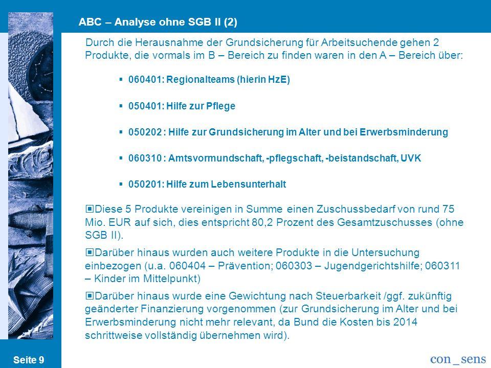 ABC – Analyse ohne SGB II (2)