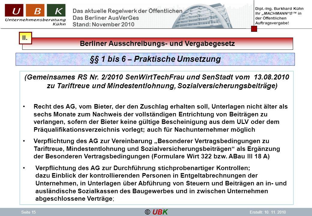 Berliner Ausschreibungs- und Vergabegesetz