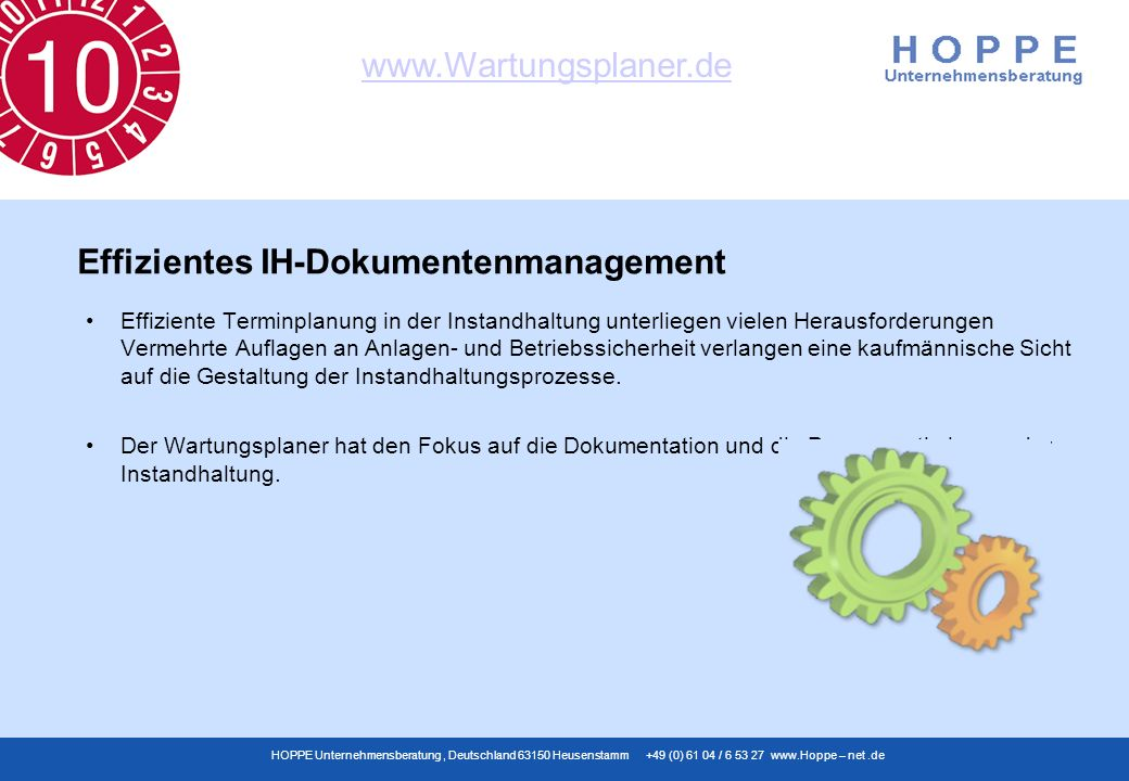 Effizientes IH-Dokumentenmanagement