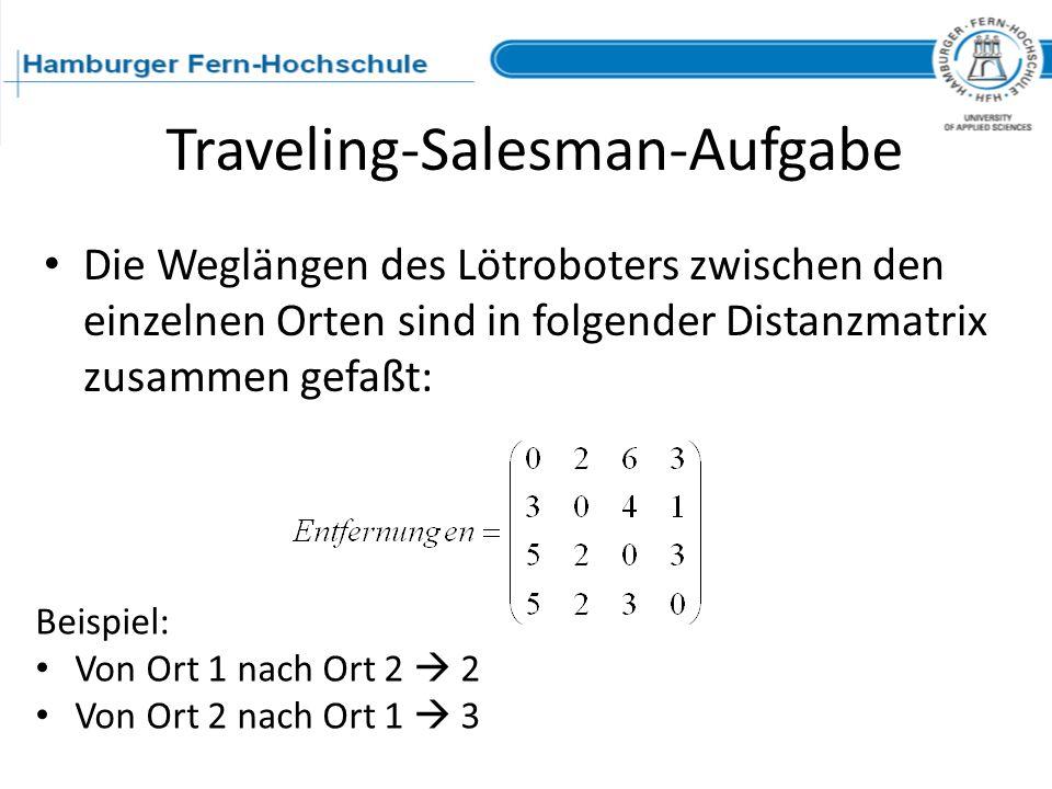 Traveling-Salesman-Aufgabe
