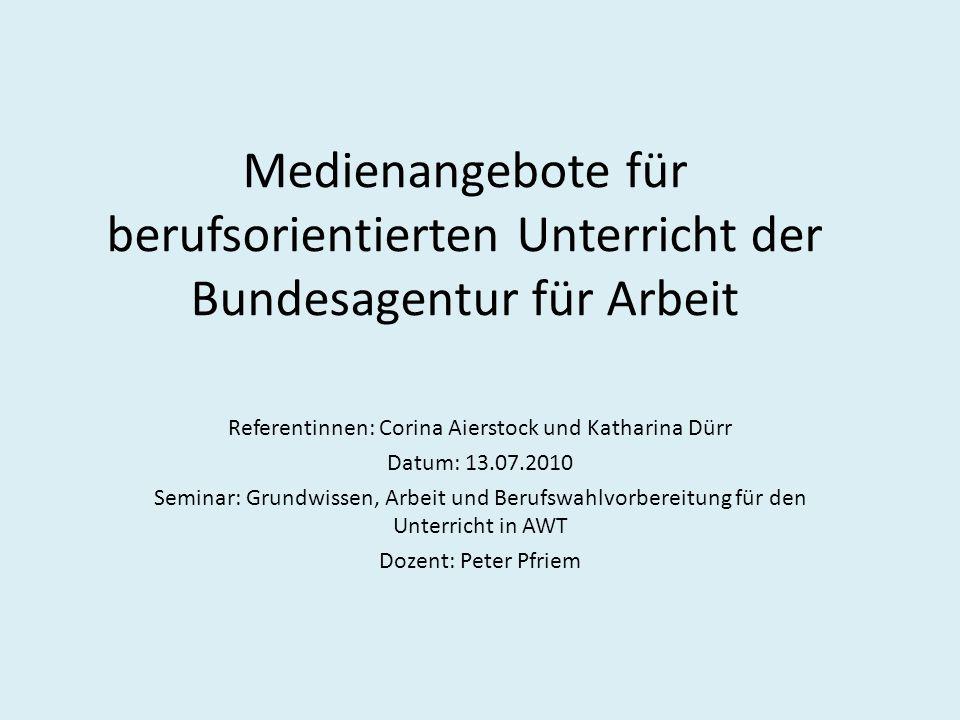 Referentinnen: Corina Aierstock und Katharina Dürr