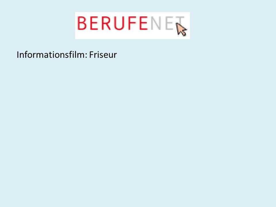 Informationsfilm: Friseur