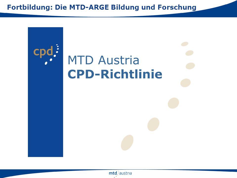 MTD Austria CPD-Richtlinie
