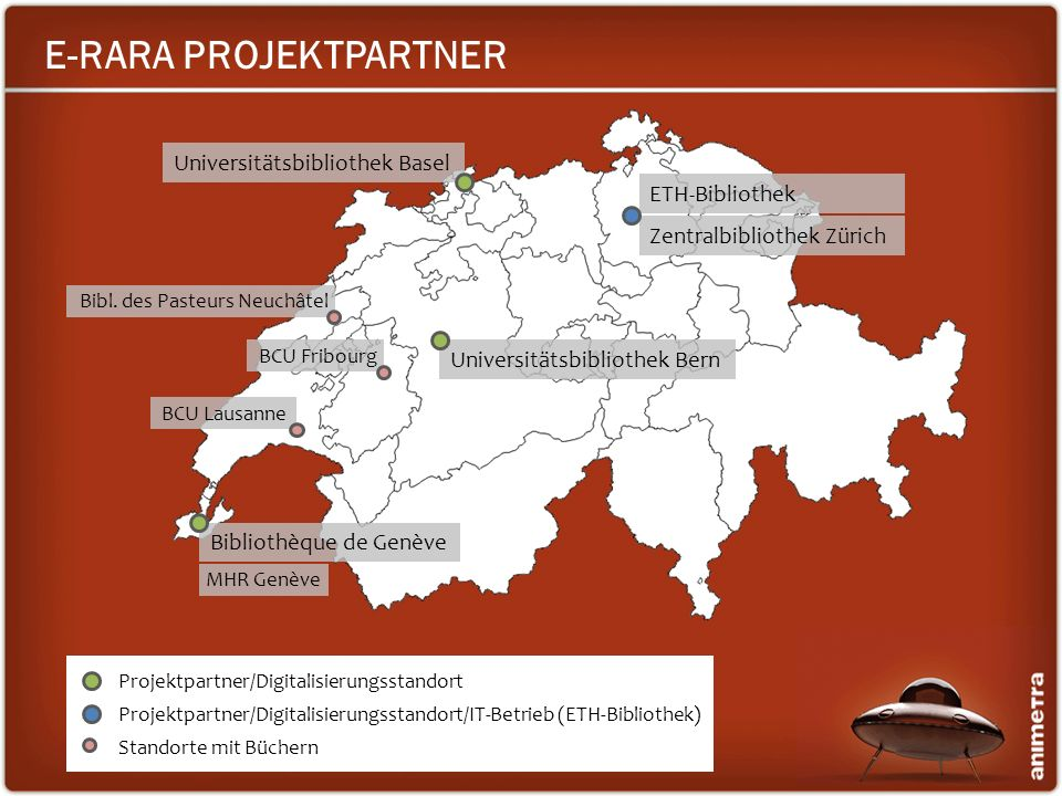 E-RARA PROJEKTPARTNER