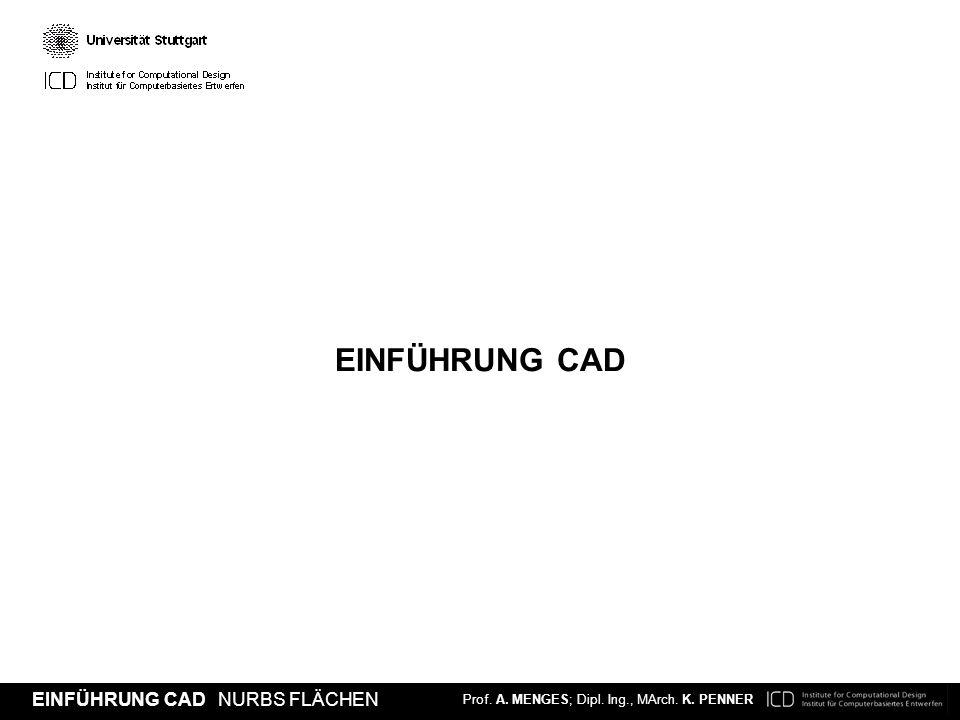 EINFÜHRUNG CAD 01.03.2012